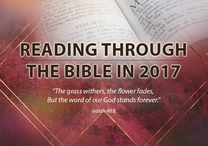 Faith Moments Devotional: December 31st, 2017 Daily Bible Reading